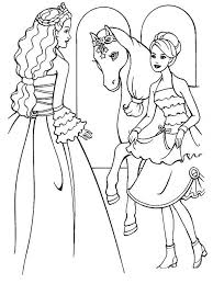 Printable Barbie Free Coloring Pages On Art Coloring Pages