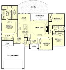 good 1900 square foot house plans for traditional style house plan 4 beds 2 baths 19