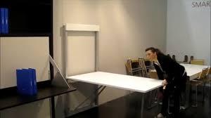 Table Murale Forli Escamotable Et Rabattable Par Square Deco Youtube