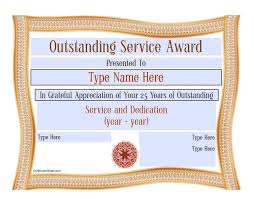 customer service award template 50 amazing award certificate templates template lab