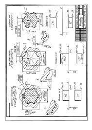 Примеры графического выполнения курсовой работы шлиц  Пример листа курсовой работы при центрировании по d