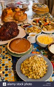 thanksgiving turkey dinner table. Brilliant Dinner Thanksgiving Turkey Dinner On Table  USA Stock Image Inside Turkey Dinner Table G