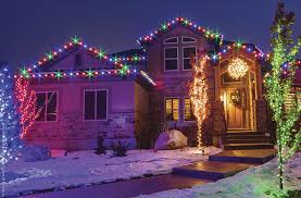 unique christmas lighting. Christmas Lights For House Exterior Outdoor Ideas The Roof Unique Lighting