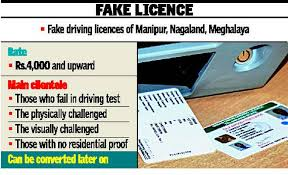 Racket Fake Licence The - On Of Mvd Trail Hindu