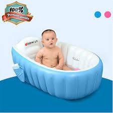 kids toddler summer portable inflatable bathtub newborn garden beach bath tub