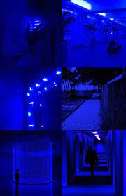 Aesthetic dark blue