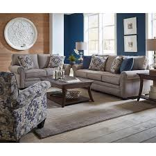 Y Casual Traditional Taupe 2 Piece Living Room Set  Heather
