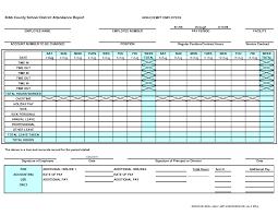 Employees Attendance Sheet Template Attendance Sheet For Employees Excel 2018 Templates Pdf For Office