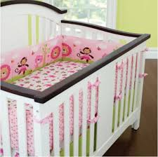 whole sweet zoo animals pink baby bedding set girls cot set embroidery quilt fitted sheet pers skirt nursery crib set bed kit bedding set for girls