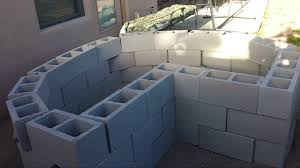 Small Picture How to make concrete blocks secure in raised bed garden