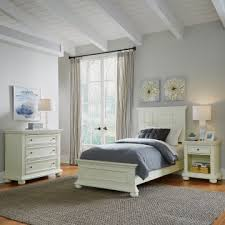 Dover Twin Bed, Night Stand, And Chest