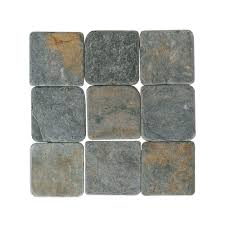travertine indian multicolor 4 in x 4 in tumbled stone floor and wall tile