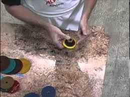 how to hand polish granite countertops