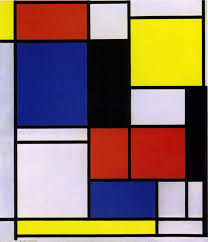 blue white yellow red abstract painting google search piet mondrianabstract