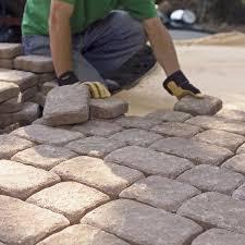 Patio Stones Lowes Pavers Concrete Blocks Interior G Inside Inspiration
