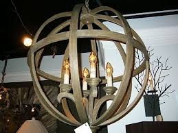 amazing of wood orb chandelier chestnut the designer insider wood orb chandelier s32