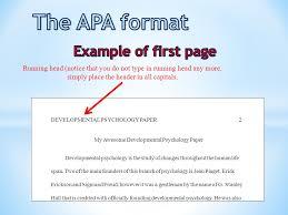 10 Apa Headings Example Far Wake