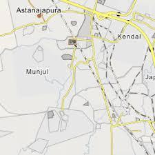 Peta lokasi obyek wisata benteng pendem. Desa Rawaurip