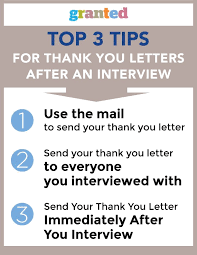 Thank You Letter After Face To Face Interview Is It Important To Send A Thank You Email Or Letter After A Face To