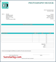 Free Invoice For Mac Adorable Photography Invoice Template Word Bill Free Invoices Templates