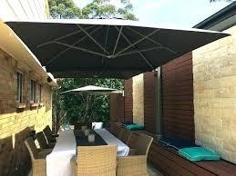 wall mounted umbrella parasol parasols shades umbrellas stand bunnings m