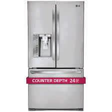 LG 24CuFt 3-Door French Door Ultra Capacity Counter-Depth ...