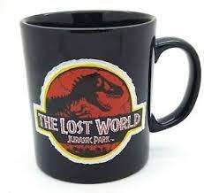 Jurassic Park The Lost World Black Movie Mug Merchandise | eBay