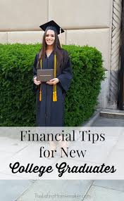 college grad budget financial tips for new college graduates png