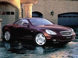 Toyota Soarer 2001, 2002, 2003, 2004, 2005, открытый кузов, 4 ...