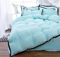 light blue bedding set duvet cover set twin full queen king size bedclothes bed sheet bedding sets bed linens pillowcase set