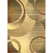 home evolution collection contemporary cream area rug rugs