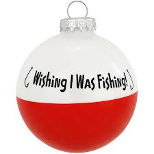 wish i was fishing bobber ornament 1150409 baubles n bling