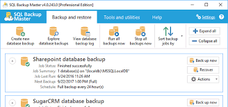 Address Database Software Free Sql Backup Master Free Off Site Database Backups
