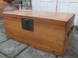 extremely large camphor wood box chest dating from the 1920 s