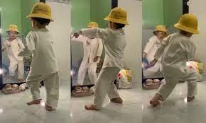 Dân mạng mê mệt xem clip cậu bé nhảy điêu luyện theo bài 'Làm gì phải hốt'