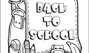 Small Picture Back To School Coloring Pages Printable back to school coloring
