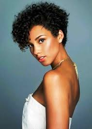 curly hair natural hairstyles for short hair