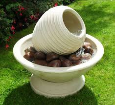 189 00 free delivery water feature tilted beehive in chalice bowl