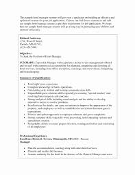 Resume Format For Housekeeping Supervisor Awesome Email Body For