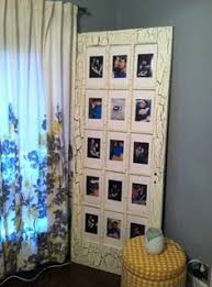 make a custom picture frame using an old french door strip paint window and doors