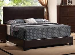 San Francisco Bedroom Furniture Conner Queen Upholstered Bed With Low Profile