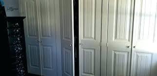60 in bi pass door sliding closet track kit doors wall to makeover with fold into bi pass sliding closet door