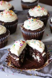 chocolate birthday cupcakes. Brilliant Birthday Jumbo Chocolate Birthday Cupcakes  A Decadent Chocolate Cupcake With  Cream Cheese And Throughout O