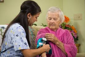 work family women in the states large care worker elderly w