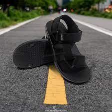 รองเท้าแตะรัดส้น สายแบบแปะเทปปรับได้ 2028-1