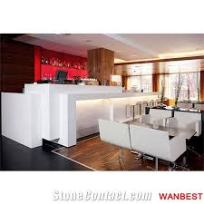 commercial white solid surface lighting breakfast bar countertop cafe shop counter commercial bar lighting i3 bar