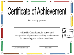 Certificates For Teachers Honor Roll Awards And Certificates Honor