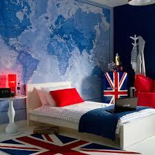 Patriotic Teen Boy Bedroom Interesting Bedroom Wall Designs For Boys
