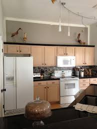 Pickled Maple Kitchen Cabinets Sherwin Williams Functional Gray To De Pink Pickled Oak Cabinets