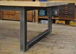 dining room table frame. other design, : custom steel base hollow rectangular dining table design room frame w